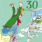 Quentin Blake Age 30 Birthday Card